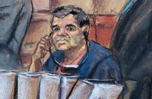 """La fiscalía se ha negado a revelar la identidad de sus testigos, algunos antiguos colaboradores de """"El Chapo""""."""