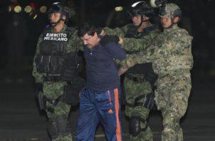 Joaquín 'El Chapo' Guzmán asegura que no tuvo un juicio justo. Foto/EFE