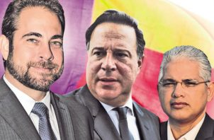 Mario Etchelecu (izquierda) y José Blandón (derecha) son los principales candidatos del partido. /Foto Infografía