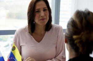 Fabiola Zavarce tiene tres meses de ser embajadora de Venezuela en Panamá.