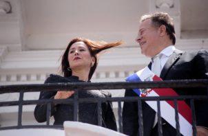 Nueva embajadora fue presentada oficialmente en el Palacio de las Garzas. Víctor Arosemena