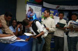 Hasta junio pasado se registraron 116,187 contratos en la sede central del Ministerio de Trabajo.