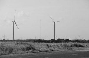 Solo un 7% del consumo energético en Panamá es abastecido con energía eólica, según un informe de la Secretaría Nacional de Energía de mayo 2018.