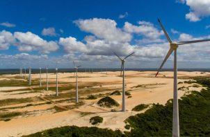 La energía eólica actualmente representa el 9.2% de la matriz. EFE