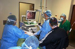 Los equipos de gastroenterología que llegarán está semana son alquilados.