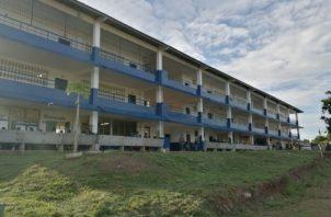 El incidente ocurrió en una escuela de jóvenes y adultos en La Chorrera. Foto/Eric Montenegro