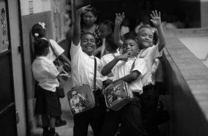 El cambio que debe dar Panamá a nivel didáctico, depende de la disposición de los gobernantes para aportar los recursos necesarios y así fortalecer la base de los estudiantes y profesores. Foto Archivo.