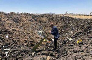 150 pasajeros y tripulantes mueren en tragedia aérea de Ethiopian Airlines. Foto/EFE