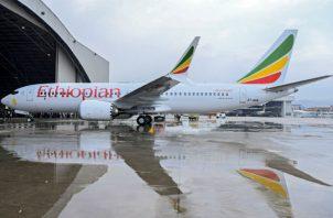 """Tewolde señaló también que todavía es pronto para determinar """"las causas del accidente"""" del aparato de Ethiopian Airlines, un Boeing 737 MAX-8 nuevo adquirido en noviembre de 2018."""