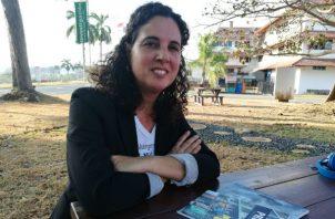 La antropóloga Eugenia Rodríguez advierte desigualdad hacia la mujer en todo los ámbitos sociales.  Miriam Lasso