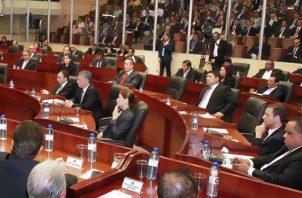Los diputados cuestionaron duramente a los representantes del Ejecutivo.
