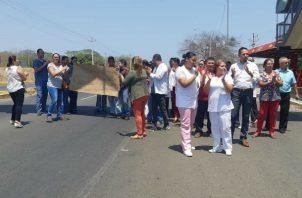 Protestaron para exigir respuestas. Foto: Thays Domínguez.