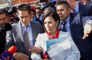 La investigación contra Robles se enmarca dentro del caso de La Estafa Maestra, una trama de desvío de dinero destapada en 2017 por el portal Animal Político y la organización Mexicanos contra la Corrupción y la Impunidad. FOTO/EFE