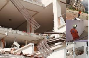 La explosión se registró el pasado 31 de mayo donde toda una familia resultó afectada.
