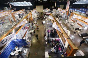 Para la edición de Expocomer 2019  contaron con la participación de empresas de 30 países. Foto/Cortesía Cámara de Comercio