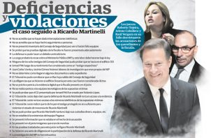El Ministerio Público no pudo probar que el expresidente Ricardo Martinelli haya dado órdenes para intervenir comunicaciones. Foto: Panamá América.