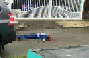 """Francisco """"Tony"""" Grajales, quien fue capitán del Servicio Nacional de Fronteras, recibió dos impactos de bala en el rostro. Foto: Panamá América."""