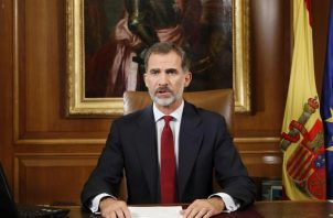 El rey Felipe de España.