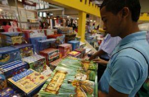 La programación de la Feria del Libro será variada. Foto: Archivo