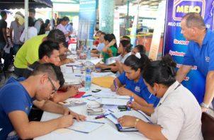 La feria de empleo se llevará a cabo en el centro comercial Los Andes Mall hasta las 4 de la tarde, informó el Ministerio de Trabajo y Desarrollo Laboral. Foto/Archivo