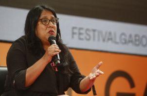 Panelistas exponen en el el Festival Gabo de periodismo Iberoamericano 2019, en Medellín. Foto:EFE.