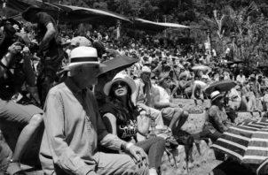 El Boquete Jazz and Blues Festival se celebra desde hace 14 años. Foto EFE.