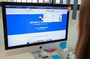 El proceso de filiación para solicitar un permiso de trabajo en el Mitradel se realiza en línea.