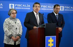 La vicefiscal de Colombia, María Paulina Riveros, siguió los pasos de su jefe, Néstor Humberto Martínez, y también presentó su renuncia. FOTO/EFE