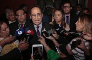 Aurelio Vásquez, fiscal del Ministerio Público, quien actúa dentro de este juicio oral. Foto de archivo