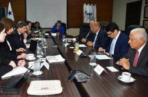 En la reunión se destacó el apoyo histórico que esta entidad de financiamiento internacional le ha brindado a Panamá.