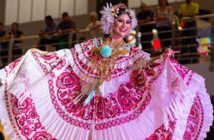Celebrarán el folklore en Albrook Mall. Foto: Cortesía/Rafael Chong
