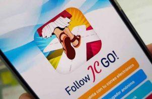 Follow JC Go ya muestra más de 110,000 descargas. Foto/Cortesía