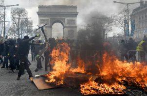 Esta décimo octava manifestación está considerada crucial porque se cumplen cuatro meses de protestas.