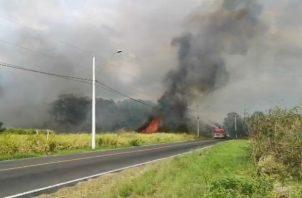Uno de los últimos incendios registrados en Veracruz, distrito de Arraiján, fue ocasionado por la explosión del tanque de gas de una vivienda.