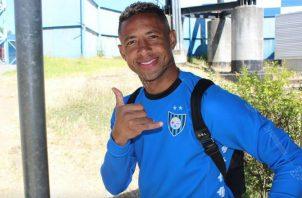 Gabriel Torres fue el goleador del Huachipato. Foto Cortesía