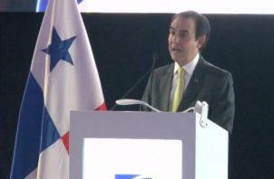 Superintendente de Bancos de Panamá, Ricardo Fernández mostró cifras del sector. Foto: SBP.