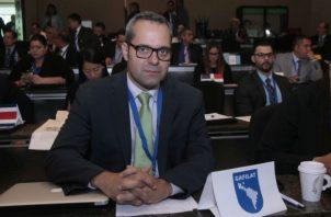 Marconi Melo, secretario ejecutivo del Grupo de Acción Financiera de Latinoamérica Foto: Víctor Arosemena