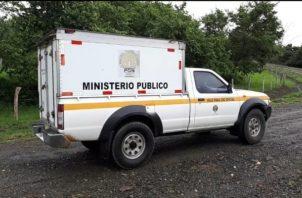 Se espera que con la necropsia se puede determinar que causó la muerte de este ciudadano. Foto/José Vásquez