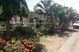 En este incidente también resultó herido el hijo de 49 años de la víctima. Foto/Thays Domínguez