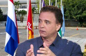 Gerardo Solís genera consenso en la bancada del PRD. Ilustración de Panamá América