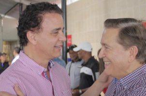 Gerardo Solís (izq.), quien era el candidato de la bancada del Partido Revolucionario Democrático, será el nuevo contralor a partir de 1 de enero de 2020.