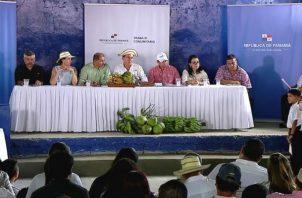 Laurentino cortizo realiza gira comunitaria. Foto/Cortesía