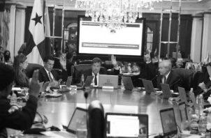 El presidente de la República y su Gabinete aprobaron el crédito adicional suplementario de $312.5 millones, el viernes 12 último.