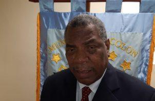 Humberto Góndola, secretario general de la alcaldía colonense,