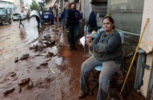 El pequeño pueblo de Nea Kios, en las cercanías de Argos, tuvo que ser evacuado
