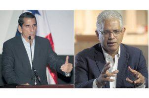 Ni Rómulo Roux (izquierda) ni José Isabel Blandón (derecha) han mostrado intención de declinar su candidatura presidencial. /Foto Archivo