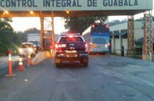 El anciano se disponía a cruzar el puesto de control de Guabalá.