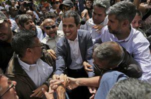 Varios países europeos están dispuestos a apoyar a Juan Guaidó como presidente interino de Venezuela. FOTO/EFE