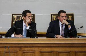"""Juan Gaidó, señaló como razones para el que prevé que será el fracaso de la medida los retrasos, la """"burocracia exacerbada"""" y la """"destrucción"""" del aparato de administración pública de Venezuela. FOTO/EFE"""