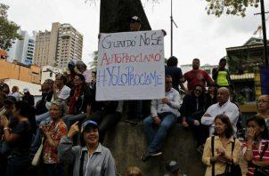 Seguidores de Guaidó preparan manifestaciones. Foto: Archivo/Ilustrativa.